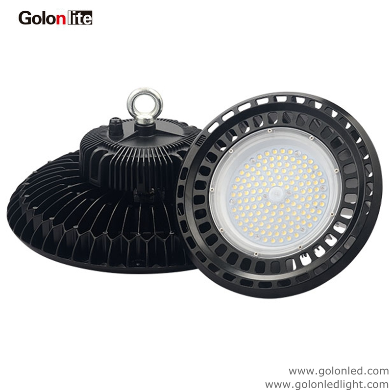 High Bay Led Lighting Calculator: 60W UFO LED High Bay Light 130Lm/W Replace 250W Metal