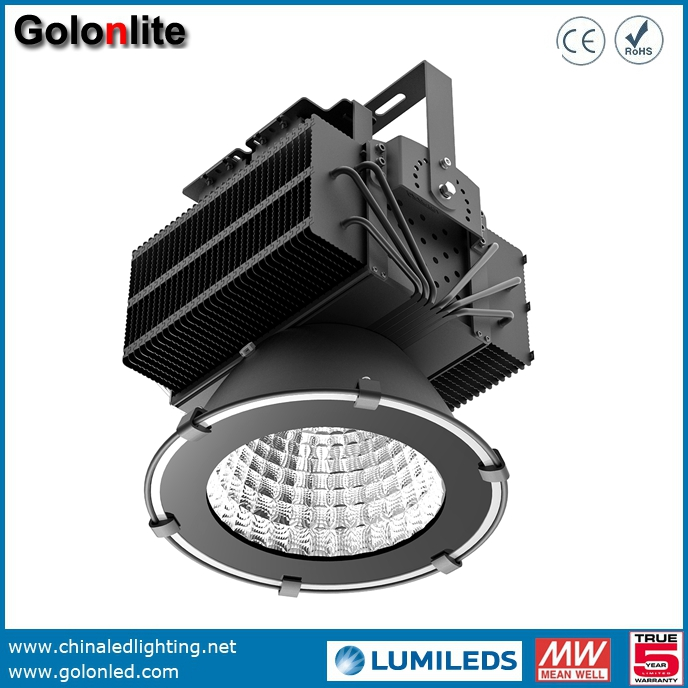 500W Waterproof LED Flood Lights For Stadium Sport Courts