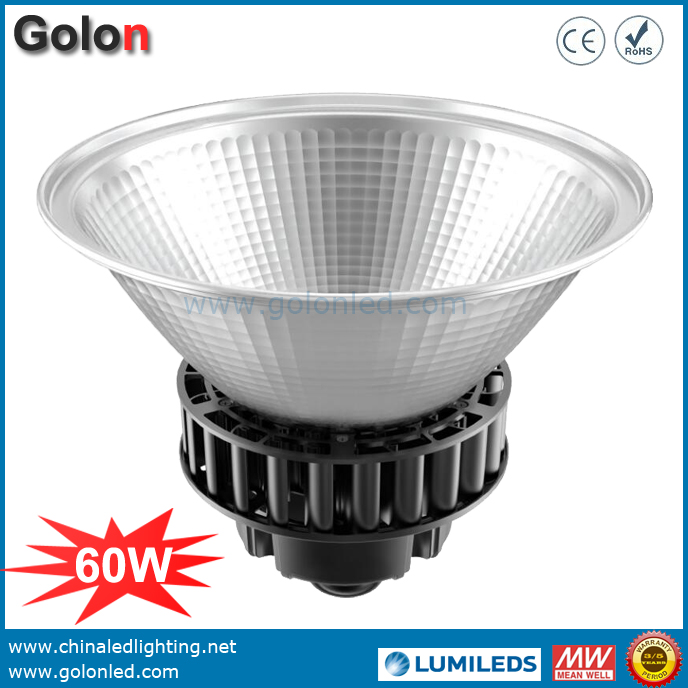 60W Industrial Lighting LED Low Bay Light